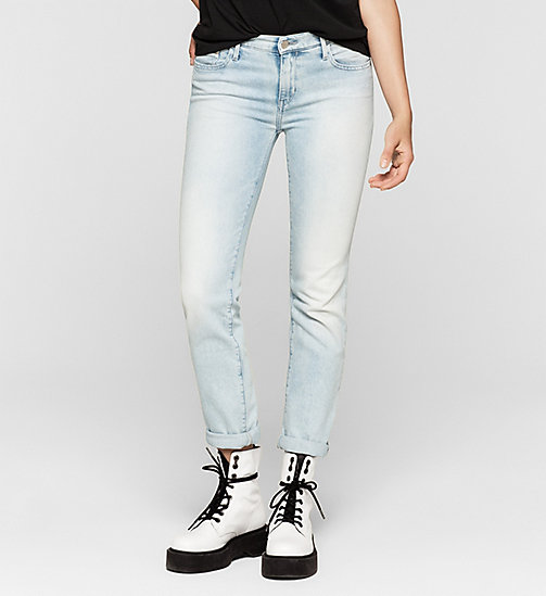 Jean straight mid rise - COAST BLUE - CK JEANS JEANS - image principale