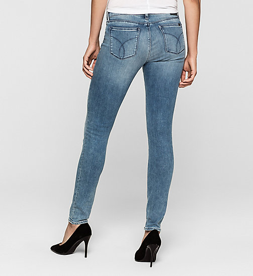 CKJEANS Mid Rise Skinny Jeans - YESTERDAY BLUE - CK JEANS JEANS - detail image 1