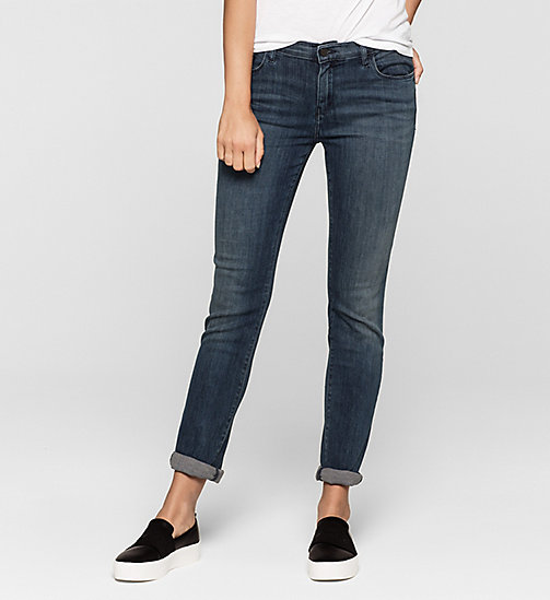 CKJEANS Mid Rise Slim Jeans - RANGER BLUE - CK JEANS Up to 50% - main image