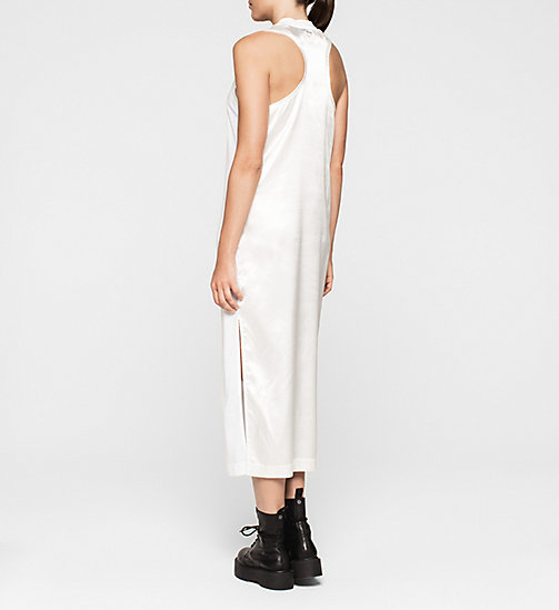 CKJEANS Logo Maxi Dress - BRIGHT WHITE - CK JEANS DRESSES - detail image 1