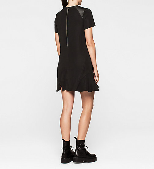 CALVINKLEIN Satin Dress - CK BLACK - CK JEANS DRESSES - detail image 1