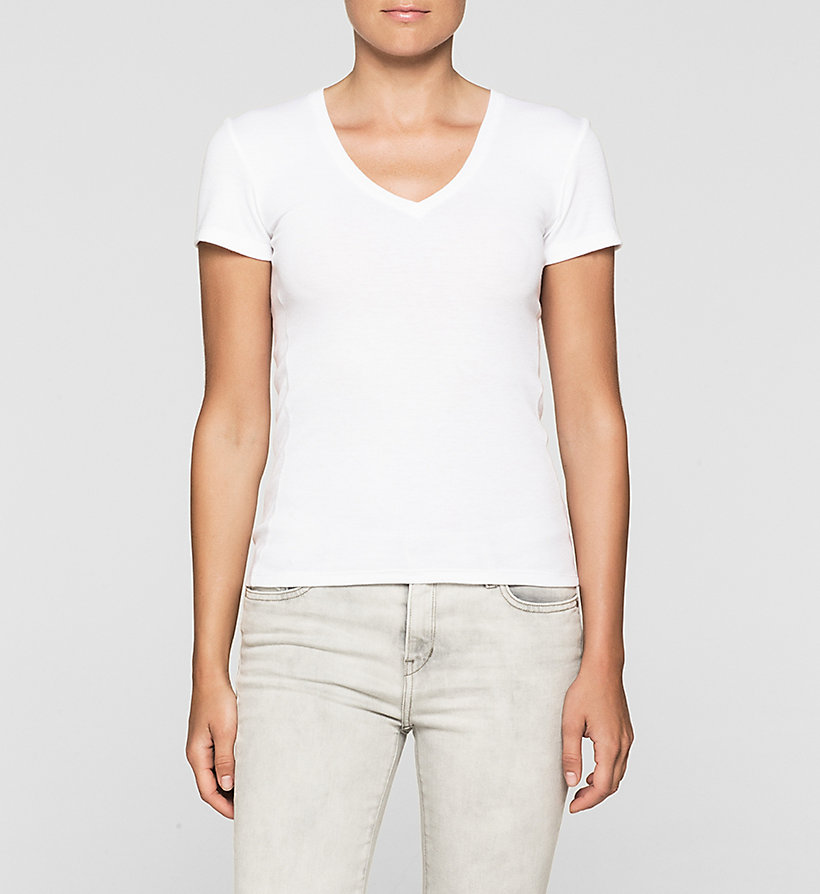 CKJEANS Fitted T-shirt - BRIGHT WHITE - CK JEANS T-SHIRTS - main image
