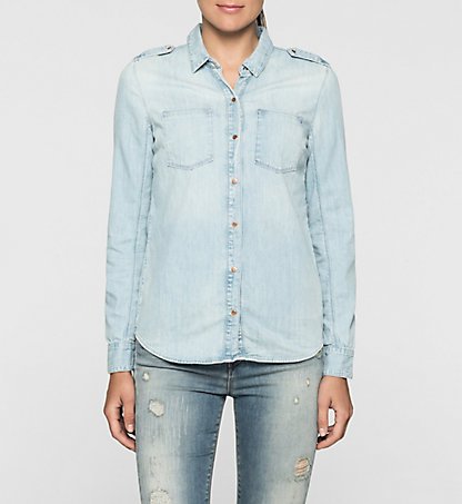 CALVIN KLEIN JEANS Denim Surplus Shirt J20J205036915