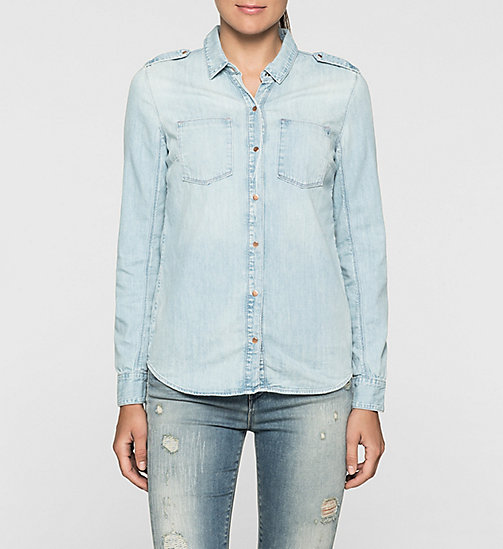 CKJEANS Denim Surplus Shirt - STONE AWAY - CK JEANS DENIM REFRESH - main image
