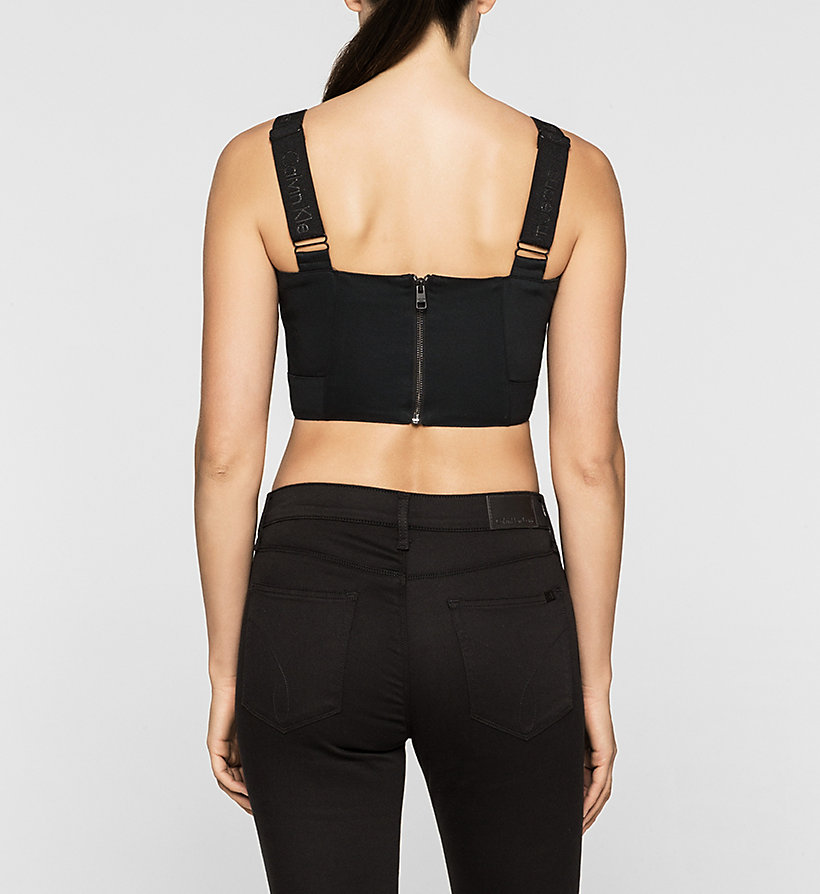 CKJEANS Cropped Top - CK BLACK - CK JEANS SHIRTS - detail image 2
