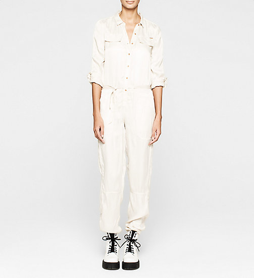 Satin Jumpsuit - MOONBEAM - CK JEANS  - main image