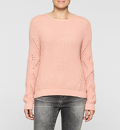 CALVIN KLEIN JEANS Ribbed Knit Sweater J20J205099690
