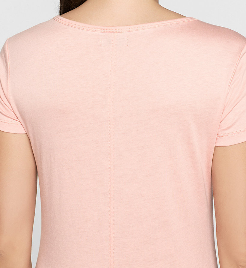 CKJEANS Fitted T-shirt - MELLOW ROSE - CK JEANS T-SHIRTS - detail image 2