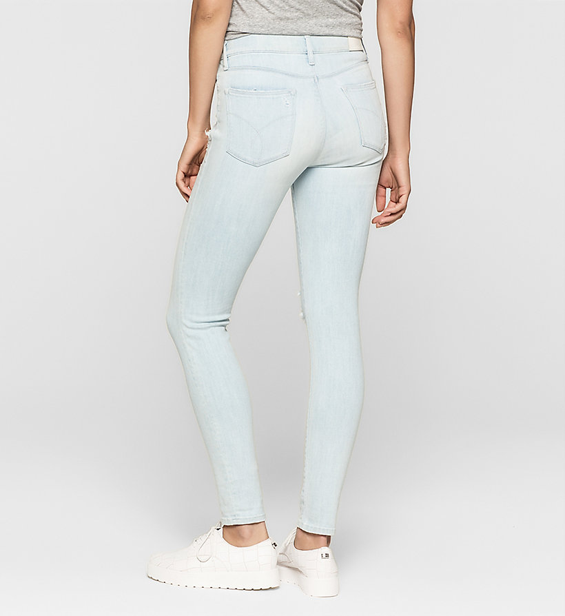 CKJEANS High Rise Skinny Jeans - YAMADA BLUE - CK JEANS CLOTHES - detail image 1
