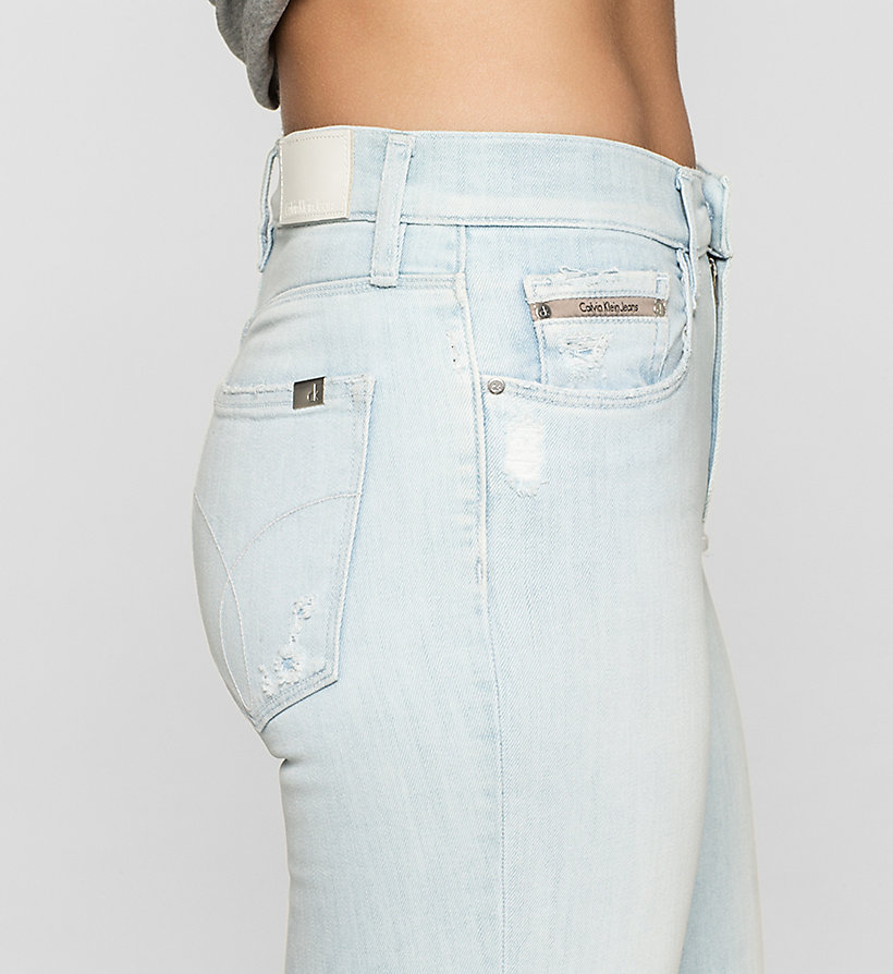 CKJEANS High Rise Skinny Jeans - YAMADA BLUE - CK JEANS CLOTHES - detail image 2