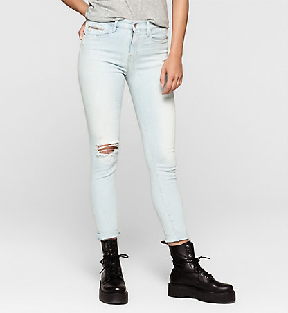 CALVIN KLEIN JEANS High-Rise Skinny-Jeans J20J205140919