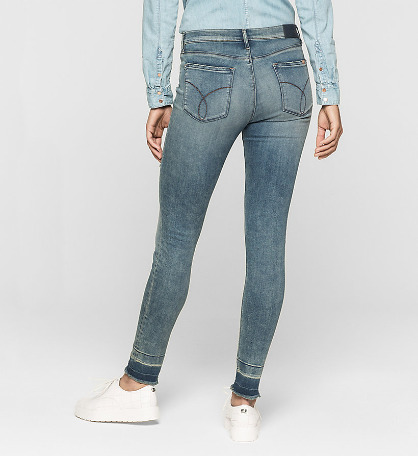 CKJEANS High Rise Skinny Jeans - ADVENTURE BLUE - CK JEANS JEANS - detail image 1