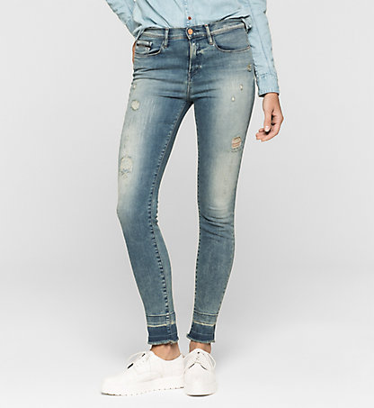 CALVIN KLEIN JEANS High-Rise Skinny-Jeans J20J205143911