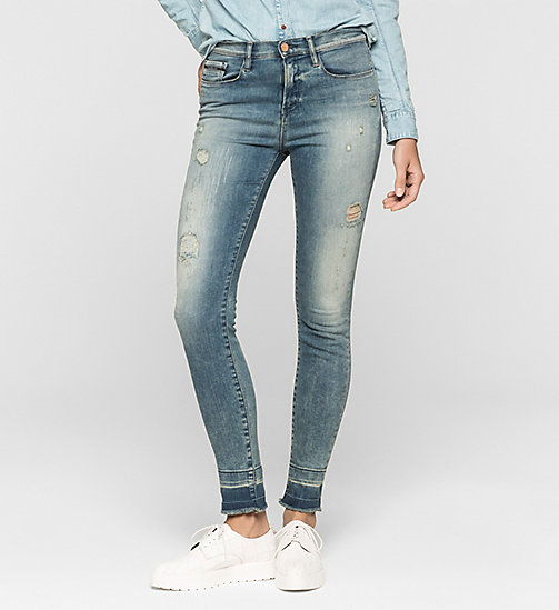 High Rise Skinny Jeans - ADVENTURE BLUE - CK JEANS  - main image