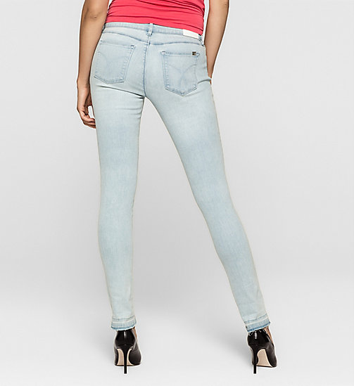 CKJEANS Mid Rise Skinny Jeans - SKY RIDER - CK JEANS JEANS - detail image 1