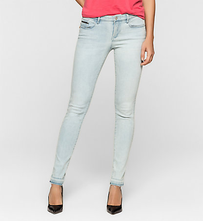 CALVIN KLEIN JEANS Mid-Rise Skinny-Jeans J20J205144917