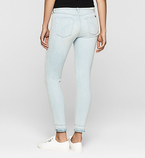 CKJEANS Mid Rise Skinny Jeans - YAMADA BLUE PAINT - CK JEANS JEANS - detail image 1