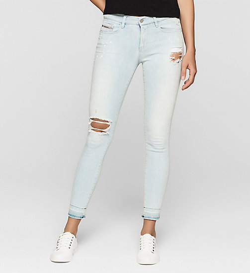 CKJEANS Mid Rise Skinny Jeans - YAMADA BLUE PAINT - CK JEANS JEANS - main image