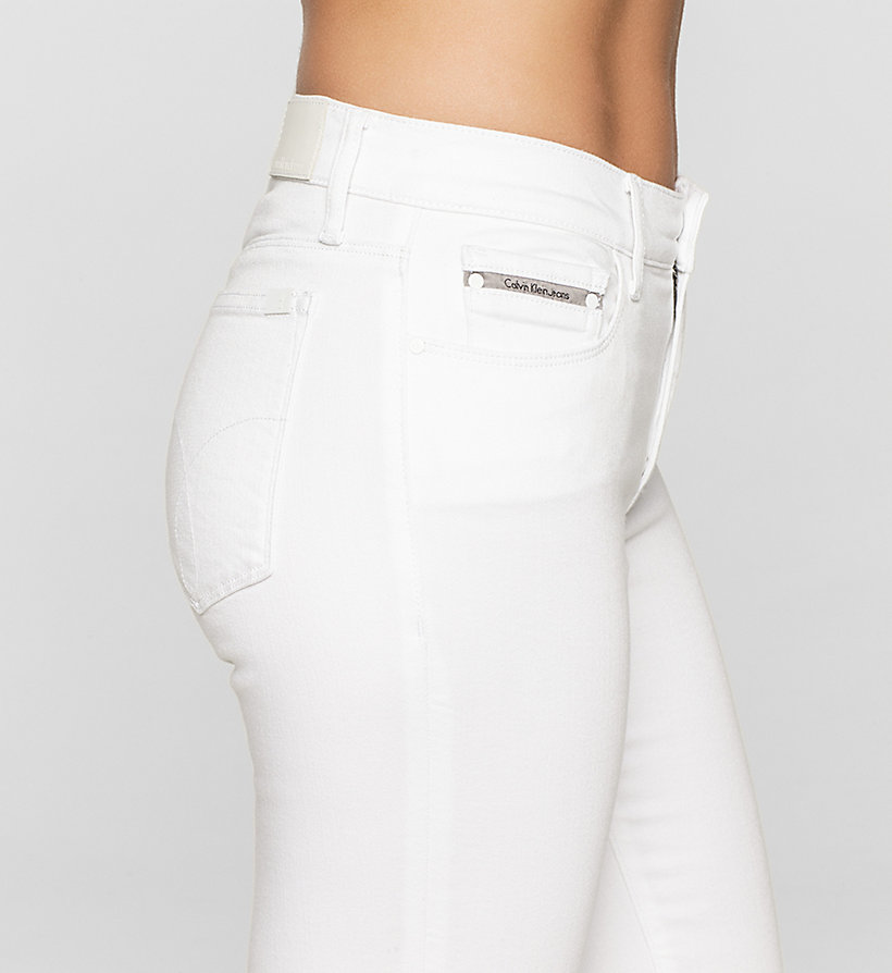 CKJEANS Mid rise slim jeans - INFINITE WHITE STRETCH - CK JEANS JEANS - detail image 2