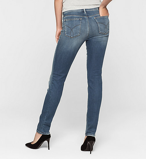 Mid Rise Slim Jeans - BLUE REVIVAL - CK JEANS CLOTHES - detail image 1