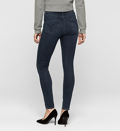 High rise sculpted skinny jeans - SILK DARK - CK JEANS  - detail image 1