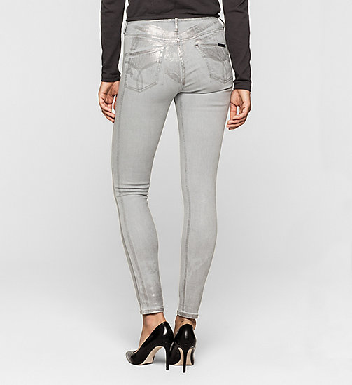 High Rise Sculpted Skinny Ankle Jeans - METALLICA - CK JEANS  - detail image 1