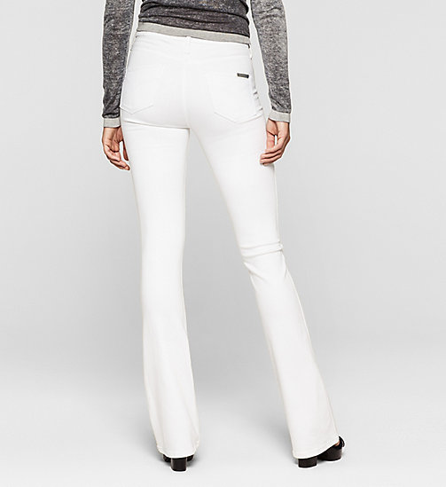 High Rise Sculpted Slim Bootcut Jeans - INFINITE WHITE STRETCH - CK JEANS  - detail image 1