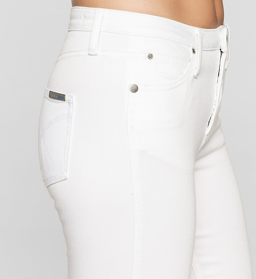 CKJEANS High Rise Sculpted Slim Bootcut Jeans - INFINITE WHITE STRETCH - CK JEANS JEANS - detail image 2
