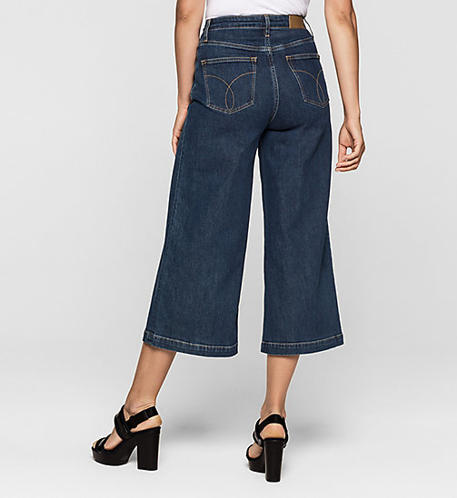 Denim surplus culotte - STONEY BLUE COMFORT - CK JEANS  - detail image 1