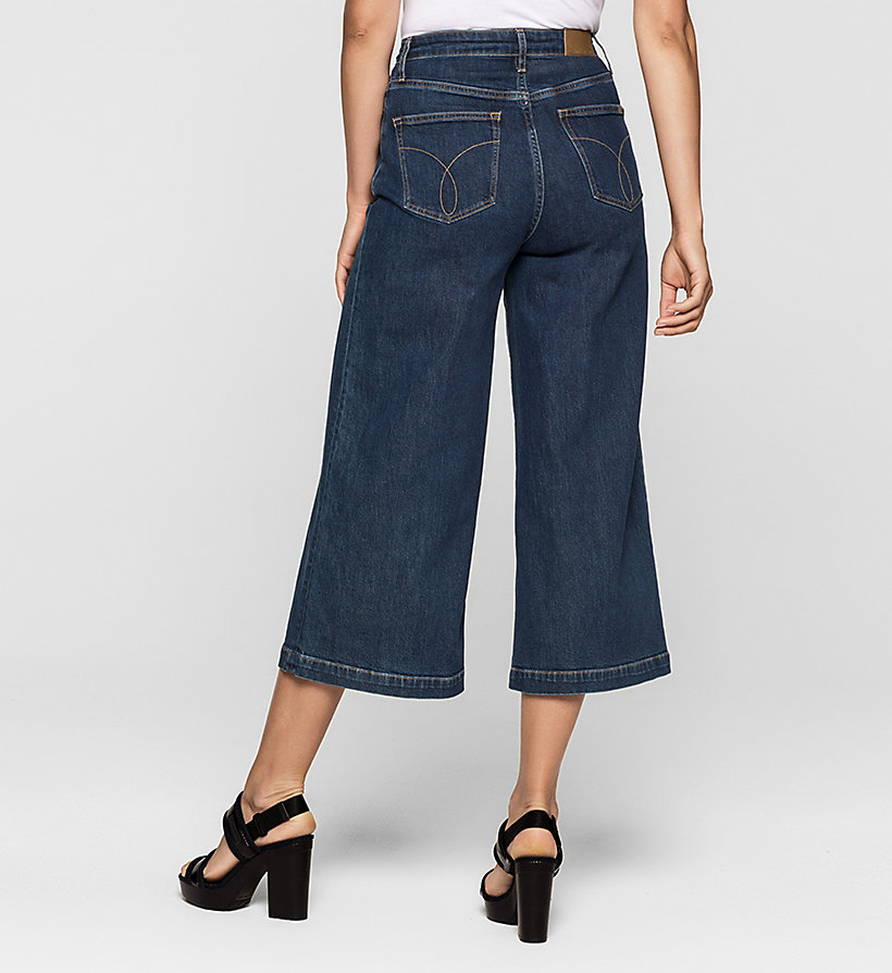 CKJEANS Denim Surplus Culottes - STONEY BLUE COMFORT - CK JEANS CLOTHES - detail image 1