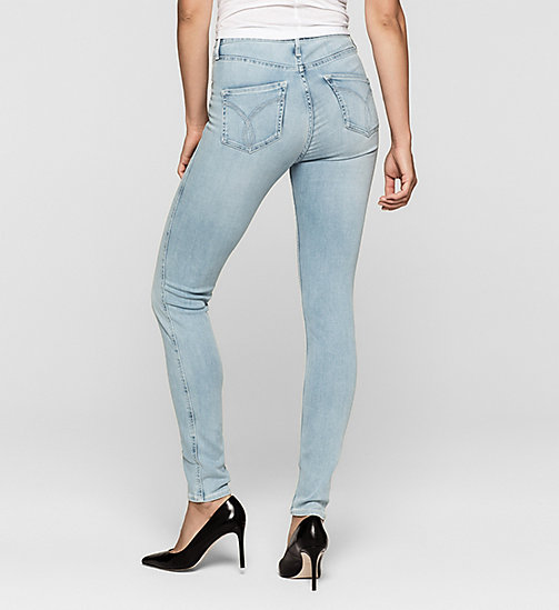 High Rise Sculpted Skinny Jeans - CRYSTAL HAZE - CK JEANS  - detail image 1