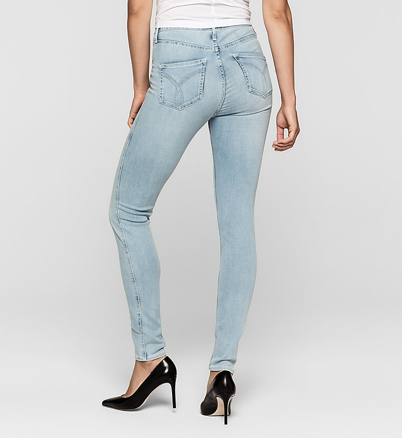 CKJEANS High-Rise Sculpted Skinny-Jeans - CRYSTAL HAZE - CK JEANS JEANS - main image 1