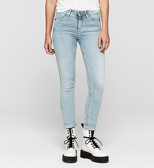 High-Rise Sculpted Skinny-Jeans - CRYSTAL HAZE - CK JEANS JEANS - main image