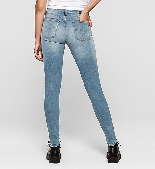 High-Rise Utility-Skinny-Jeans - UNUSUAL BLUE - CK JEANS  - main image 1