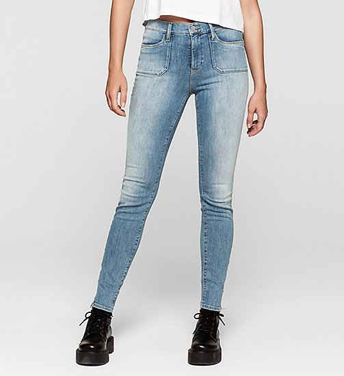 High rise utility skinny jeans - UNUSUAL BLUE - CK JEANS  - main image