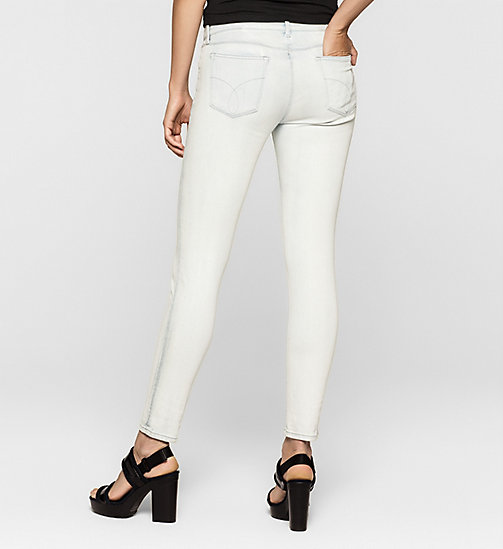 Mid Rise Skinny Jeans - SPACE STRETCH - CK JEANS CLOTHES - detail image 1