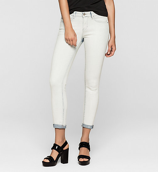 Mid Rise Skinny Jeans - SPACE STRETCH - CK JEANS CLOTHES - main image