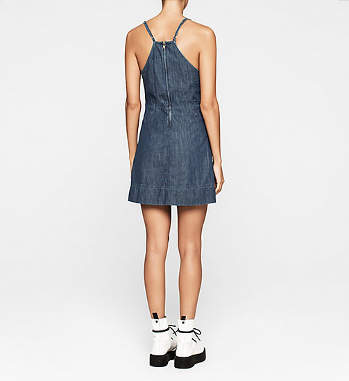 CALVINKLEIN Denim Dress - BLUE STONE - CK JEANS DRESSES - detail image 1