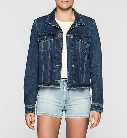 CKJEANS Denim Jacket - STONEY BLUE - CK JEANS DENIM REFRESH - main image