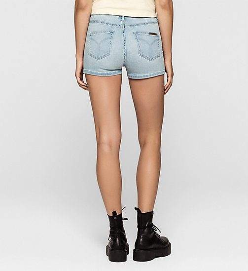 Sculpted Denim Shorts - TANGO BLUE - CK JEANS SHORTS - detail image 1