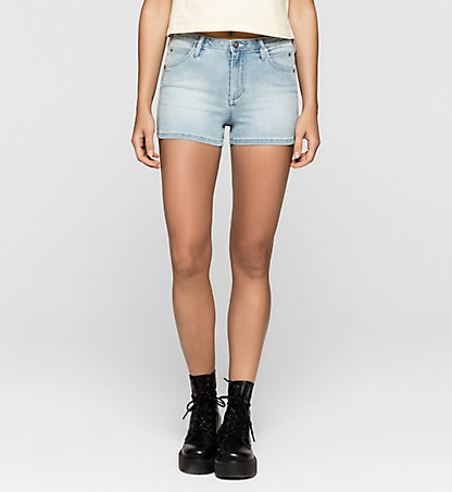CALVIN KLEIN JEANS Sculpted Denim-Shorts J20J205191913