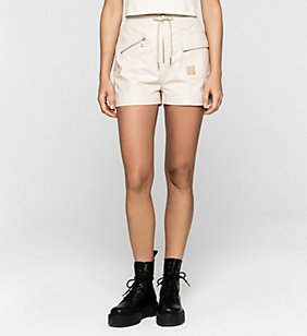 CKJEANS Leder-Shorts - MOONBEAM - CK JEANS JACKEN - main image