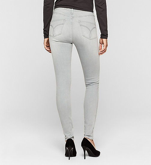 High Rise Sculpted Skinny Jeans - ROCKY GREY - CK JEANS  - detail image 1