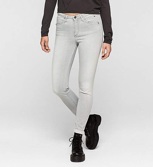High rise sculpted skinny jeans - ROCKY GREY - CK JEANS  - main image