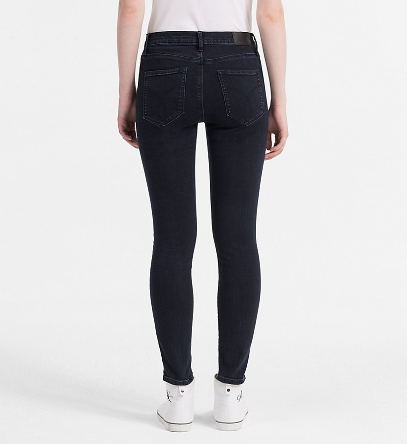 CALVIN KLEIN JEANS High Rise Skinny Jeans - WONDER RINSE - CALVIN KLEIN JEANS JEANS - detail image 1