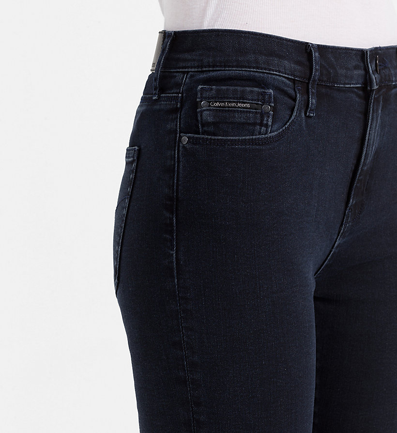 CALVIN KLEIN JEANS High Rise Skinny Jeans - WONDER RINSE - CALVIN KLEIN JEANS JEANS - detail image 2