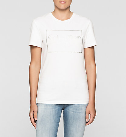 CALVIN KLEIN JEANS Fitted Logo T-shirt J20J205315112