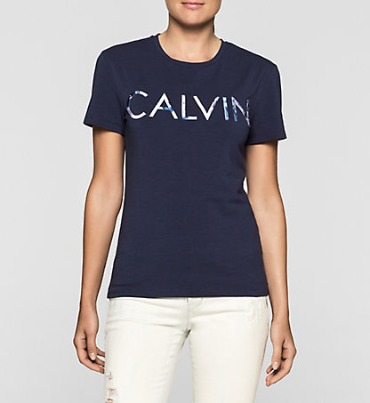 CALVIN KLEIN JEANS Fitted Logo T-shirt J20J205318496