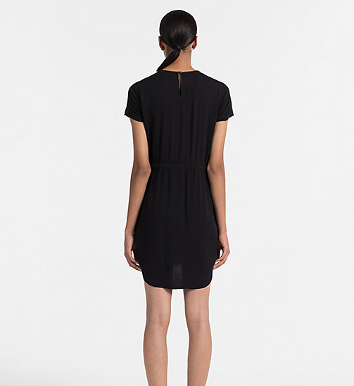 Drawstring Dress - CK BLACK - CK JEANS DRESSES - detail image 1