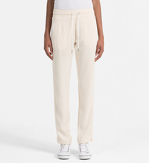 CALVIN KLEIN JEANS Satin Sweatpants - DAWN - CALVIN KLEIN JEANS ACTION-PACKED - main image